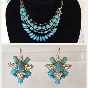 New BaubleBar Bundle Earrings and Layered Necklace